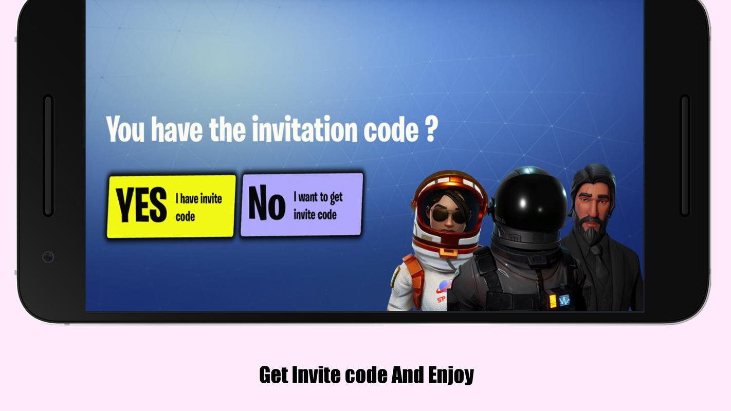 fortnite android download code