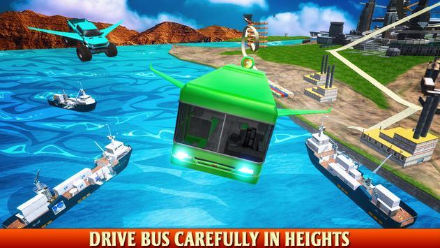 Futuristic Flying Bus Shooting apk screenshot