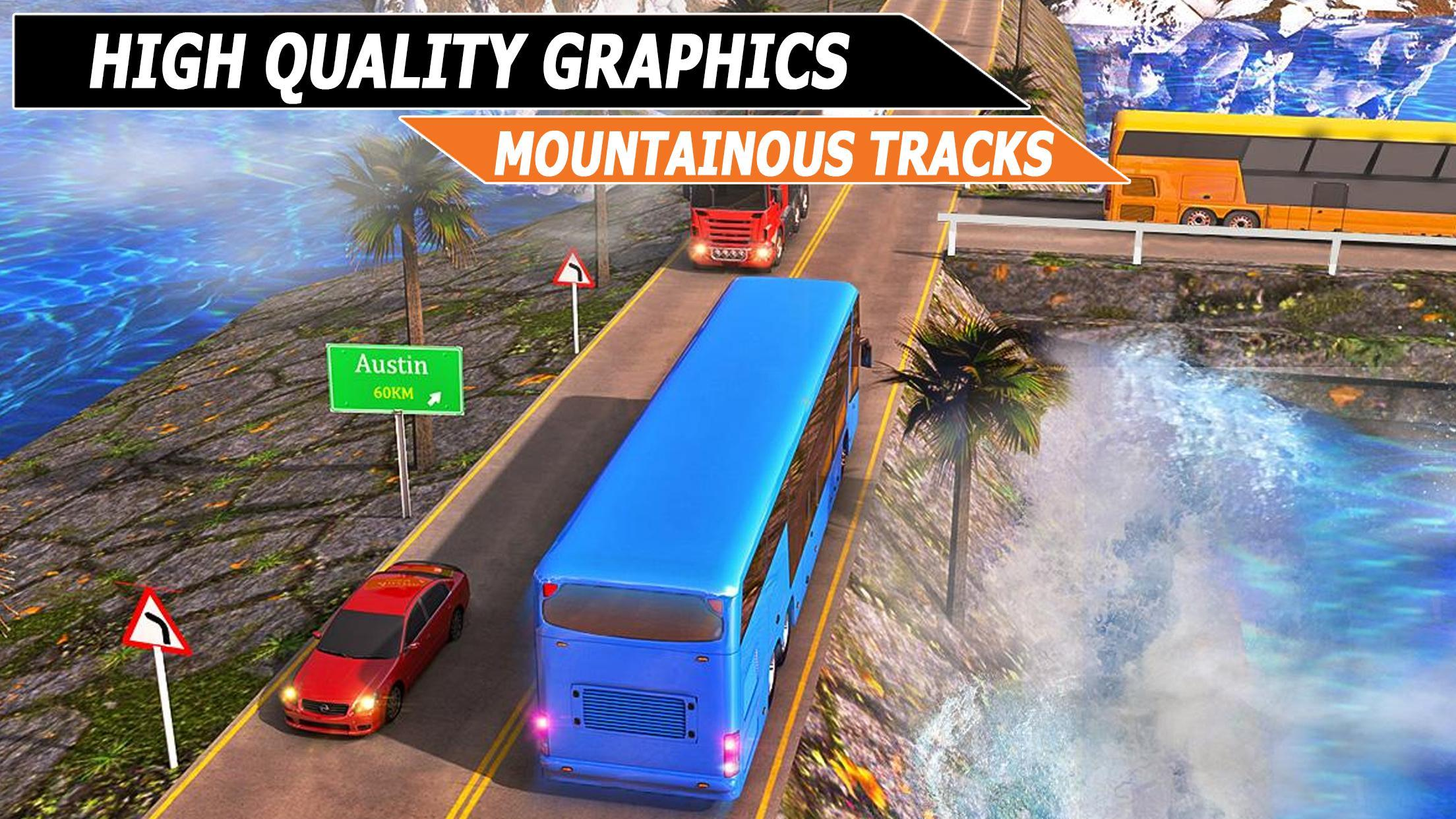 City Coach Bus Simulator : Indonesia Bus Driver 3D for