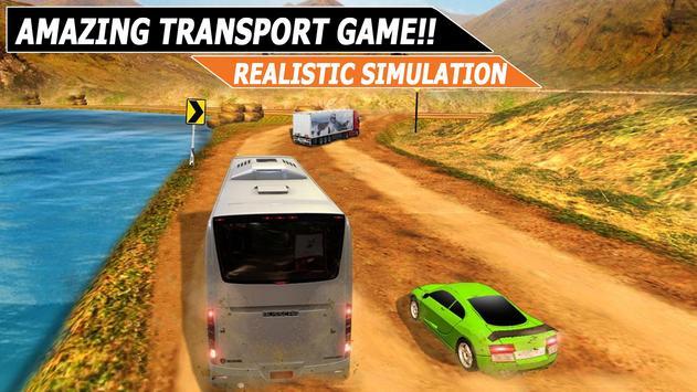 City Coach Bus Simulator : Indonesia Bus Driver 3D poster