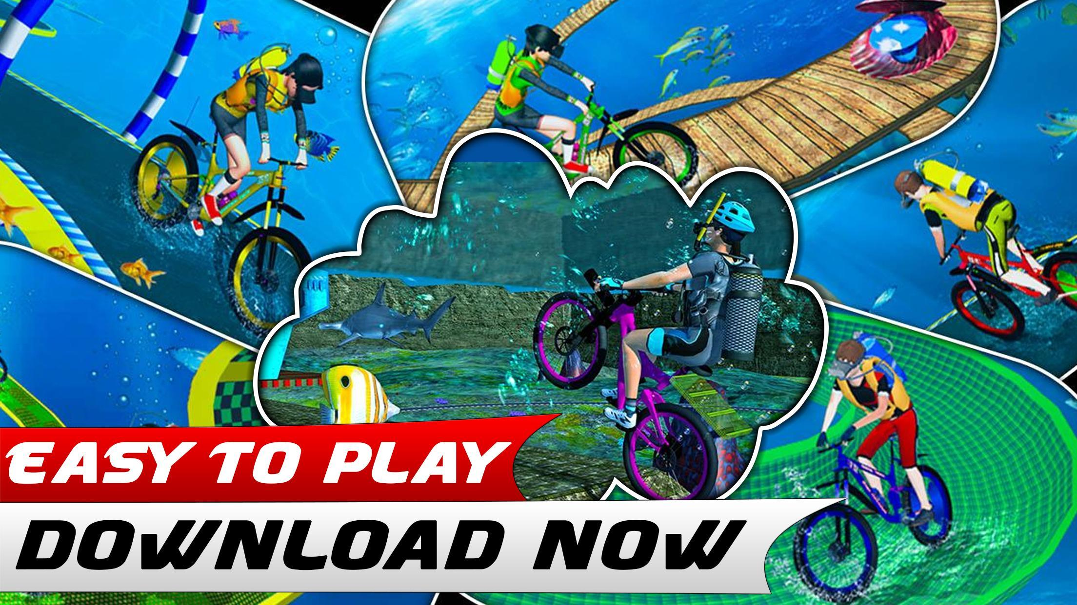 Bmx Bicycle Race Underwater Hot Wheels Stunts Para Android Apk