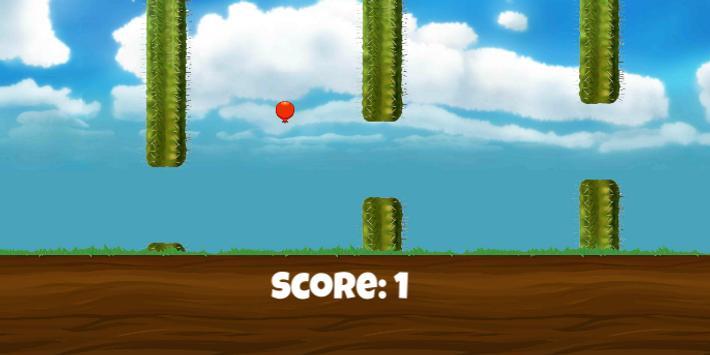 Flappy Balloon screenshot 1