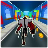 Subway ben runner alien icon