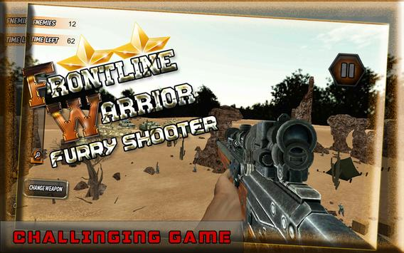 Frontline Warrior FurryShooter screenshot 13