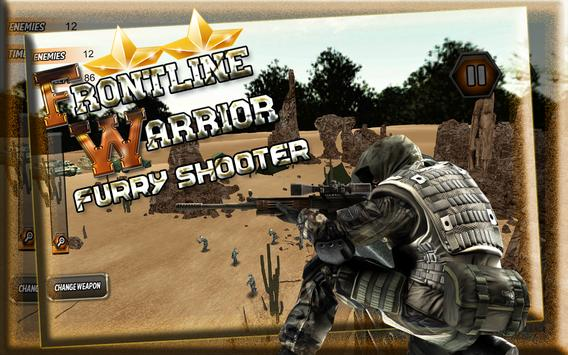 Frontline Warrior FurryShooter screenshot 15
