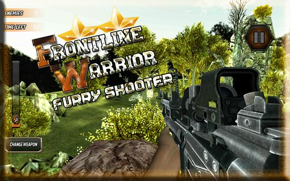 Frontline Warrior FurryShooter screenshot 22