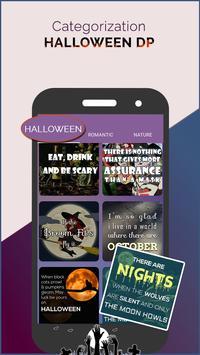 Halloween DP for Whatsapp poster