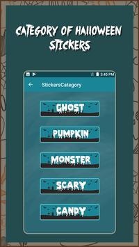 Halloween Stickers screenshot 2