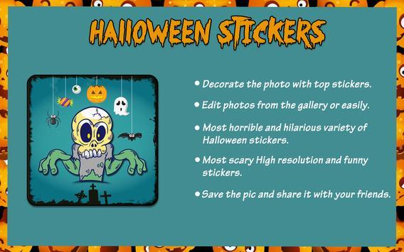 Halloween Stickers screenshot 7
