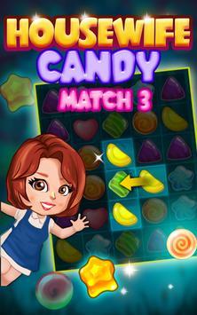 Housewife Candy Match 3 screenshot 1