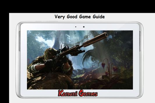 ... Guide Sniper: Ghost Warrior 3 apk screenshot ...