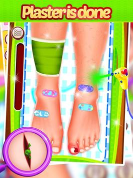 Leg Surgery - Doctor Game screenshot 4