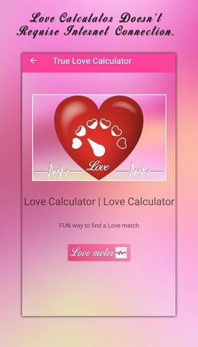 Internet love calculator