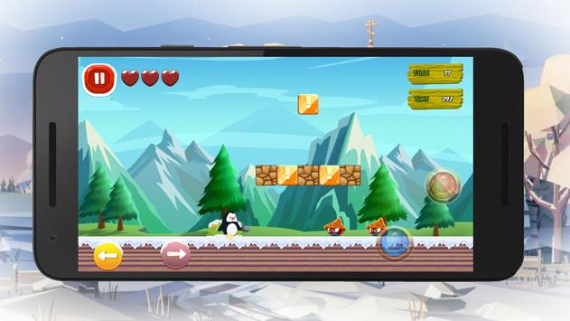 The Penguin Runner: Addictive Adventure Game poster