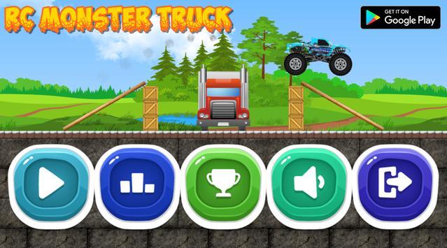 Racing Monster Truck Adventures poster