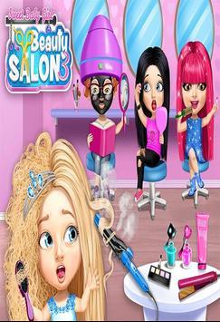 لعبة صالون التجميل وتسريح الشعر screenshot 3