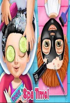 لعبة صالون التجميل وتسريح الشعر screenshot 1