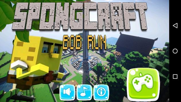 Spongcraft Bob Run Adventure poster