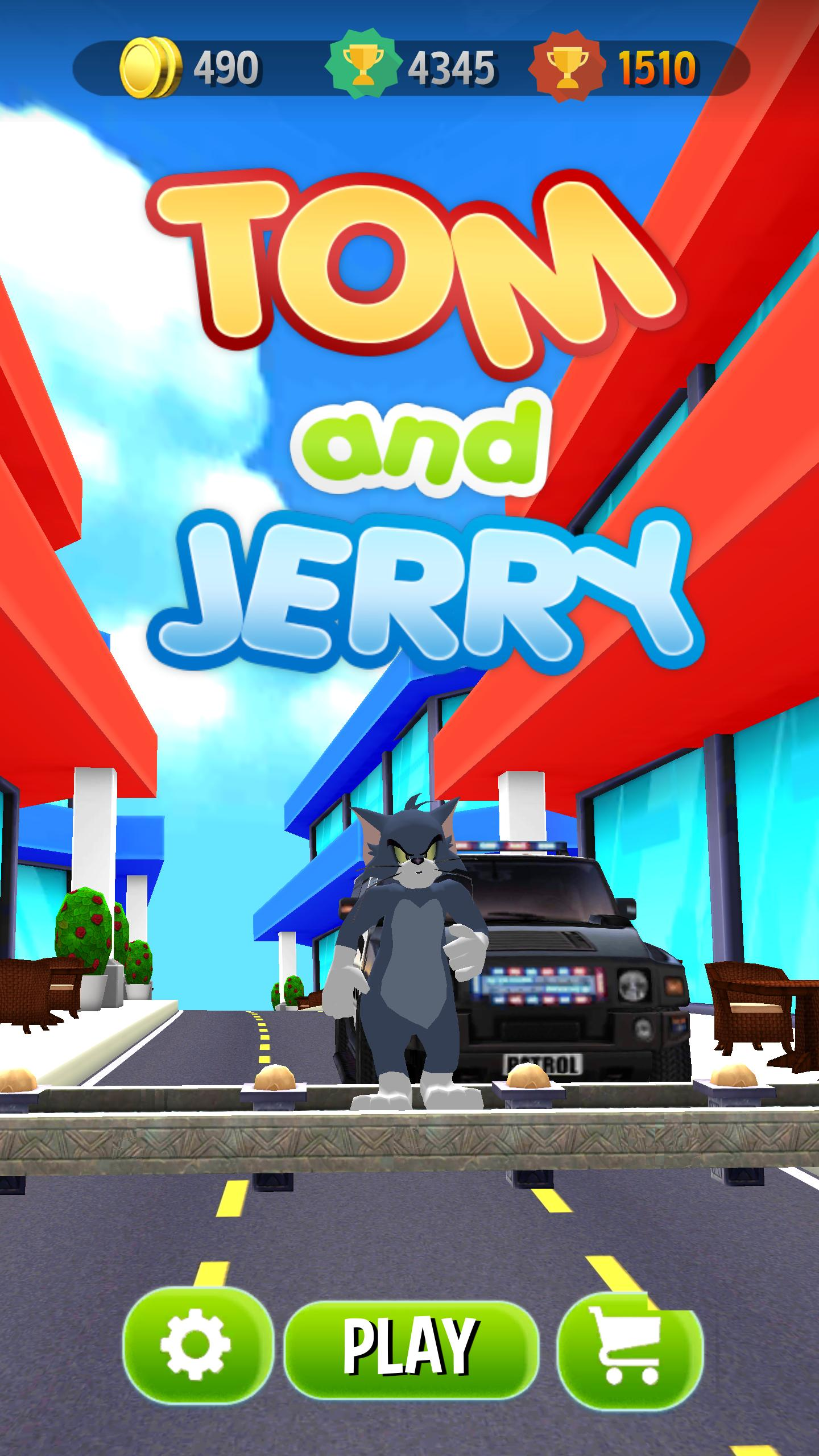 Tom Jerry Free Run Adventure 3d For Android Apk Download