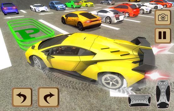 Plaza Car Parking 3D poster
