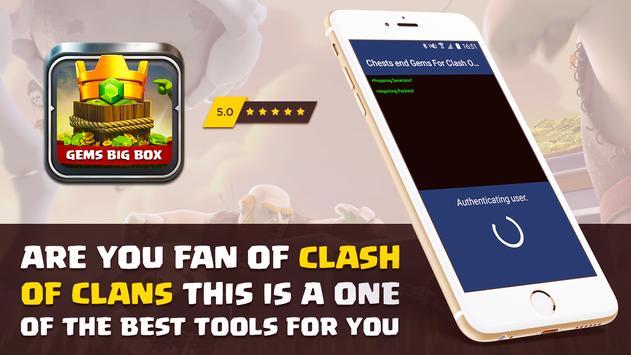 100K Gems For Clash Royale Cheats 100% screenshot 3