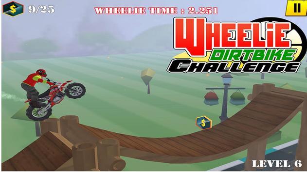 Wheelie Motorbike Stunt Racer : Dirt Bike Rider screenshot 2