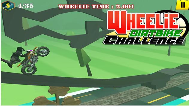 Wheelie Motorbike Stunt Racer : Dirt Bike Rider screenshot 4