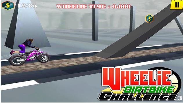 Wheelie Motorbike Stunt Racer : Dirt Bike Rider screenshot 8