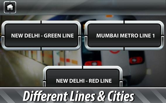 Indian Subway Driving Simulator ảnh chụp màn hình 3