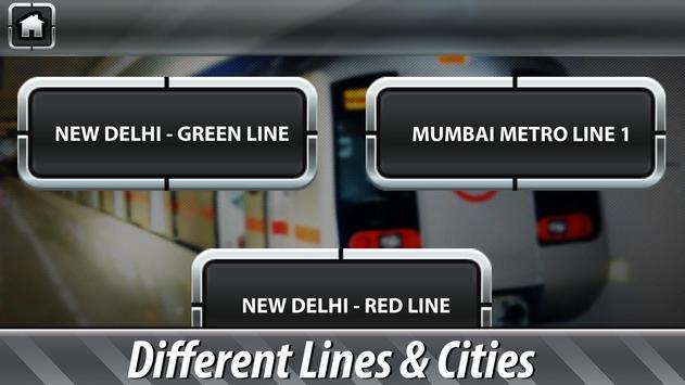 Indian Subway Driving Simulator ảnh chụp màn hình 11