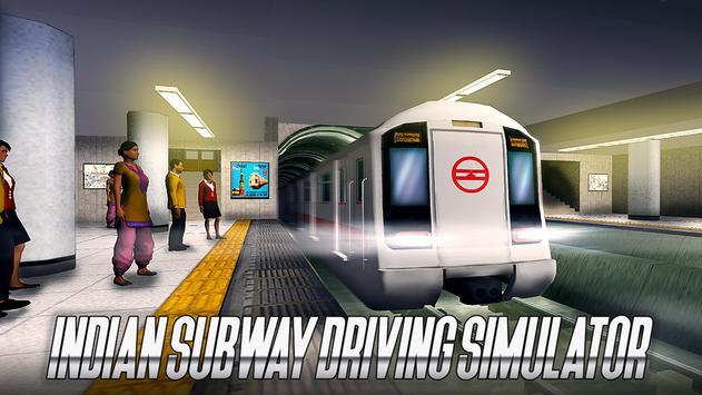 Indian Subway Driving Simulator ảnh chụp màn hình 8