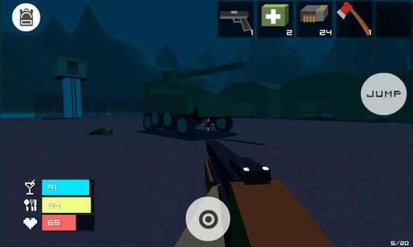 Guncraft - Zombie Apocalypse apk screenshot