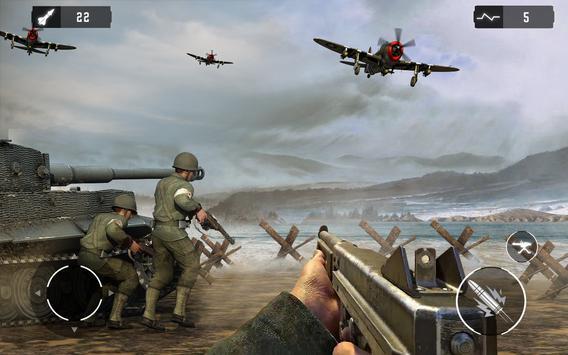 WW2 US Army Commando Unknown battleground survival screenshot 8