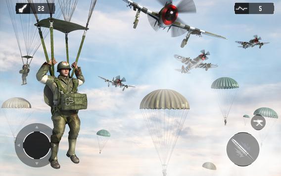 WW2 US Army Commando Unknown battleground survival screenshot 9