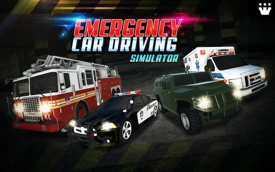 Emergency Car Driving Simulator apk screenshot