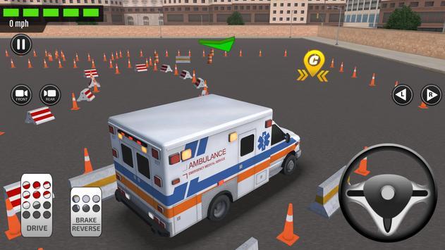 Emergency Car Driving Simulator poster