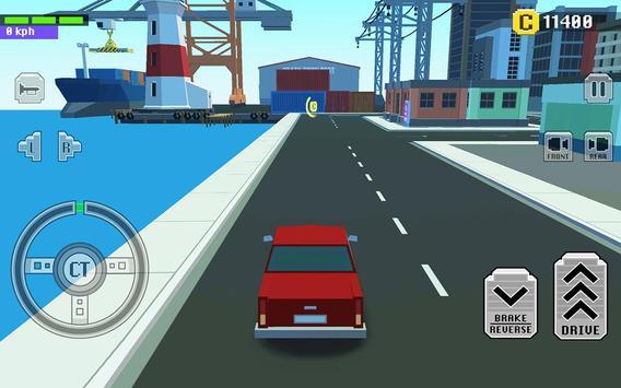 4 Schermata Car Driving in Crazy Town