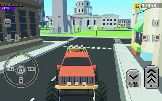 5 Schermata Car Driving in Crazy Town