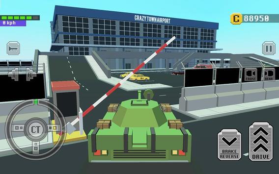 1 Schermata Car Driving in Crazy Town