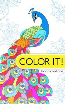 Color It – Free Coloring Book apk screenshot