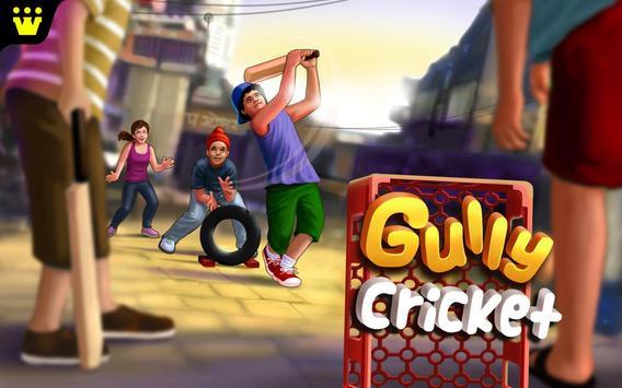 Gully Cricket تصوير الشاشة 11