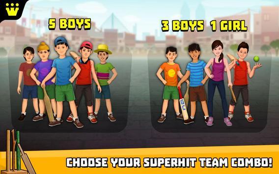 Gully Cricket स्क्रीनशॉट 2
