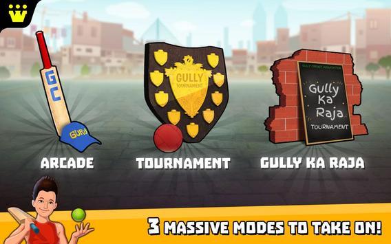 Gully Cricket स्क्रीनशॉट 3