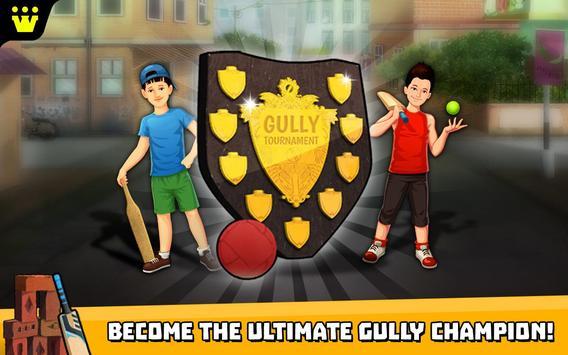 Gully Cricket تصوير الشاشة 8