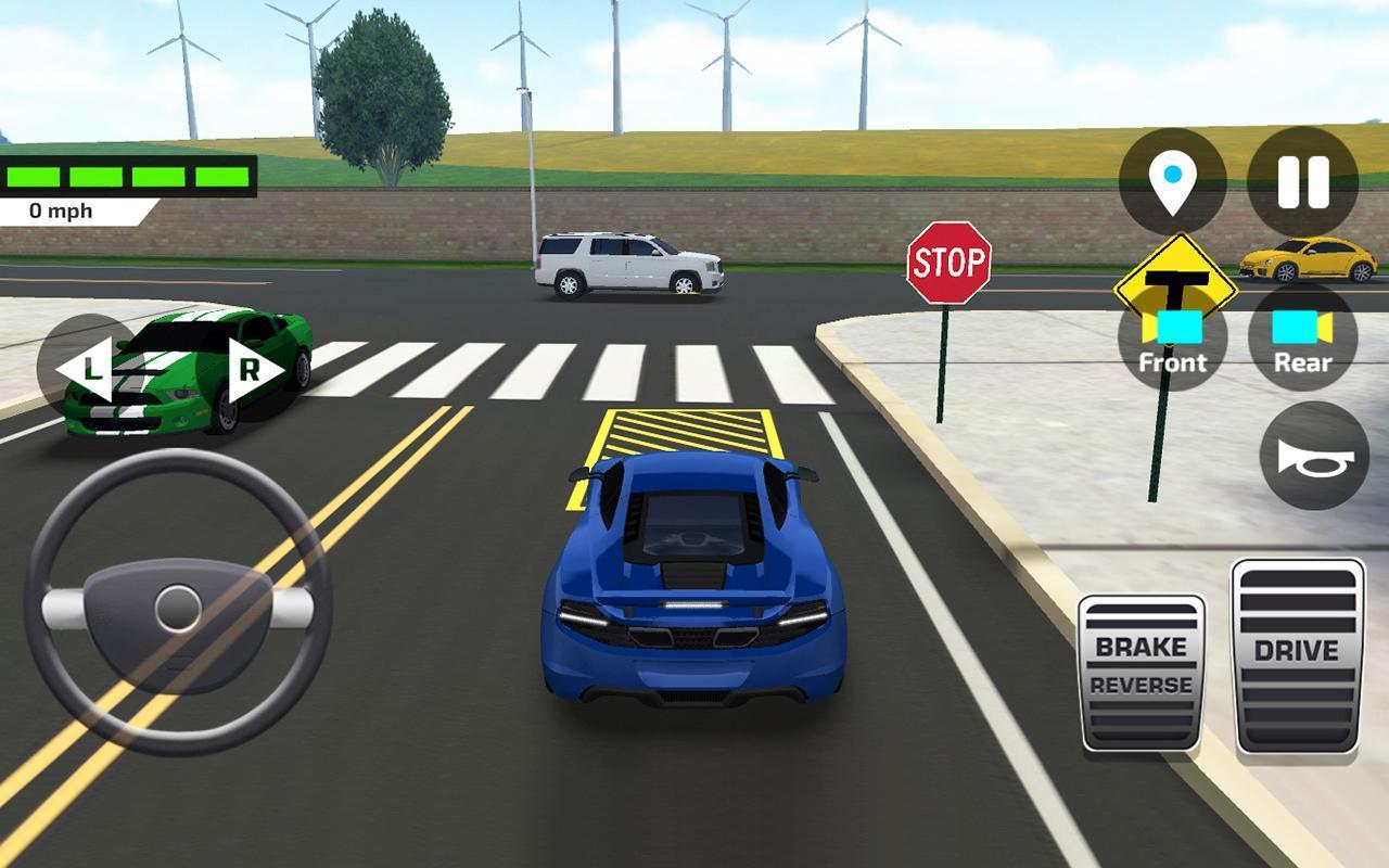 Car Driving & Parking School APK Download - Gratis Balapan ...