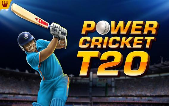 Power Cricket T20 Cup 2018 apk स्क्रीनशॉट