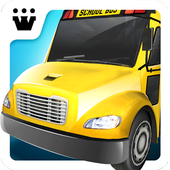 Icona Super High School Bus Driving Simulator 3D - 2018