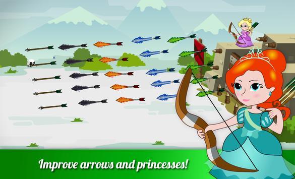 Princess in the castle vs evil apk screenshot