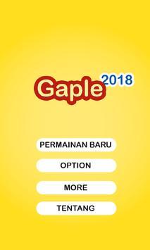 Gaple 2018 poster
