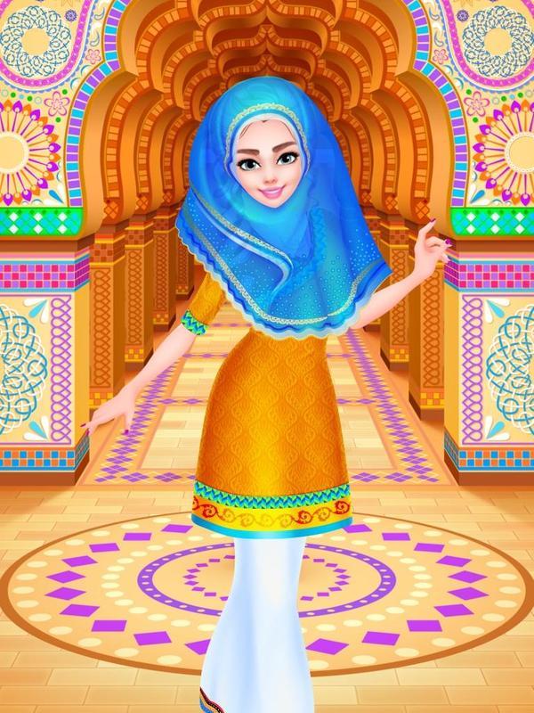 Indian Princess Dress Up Saree - Game for Girl APK Download - Free ...